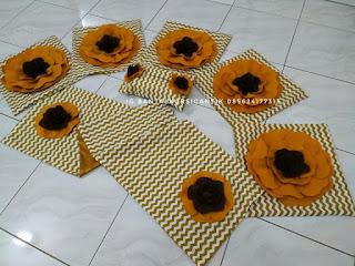 bantal kursi bunga