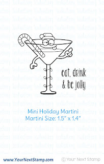 Mini Holiday Martini