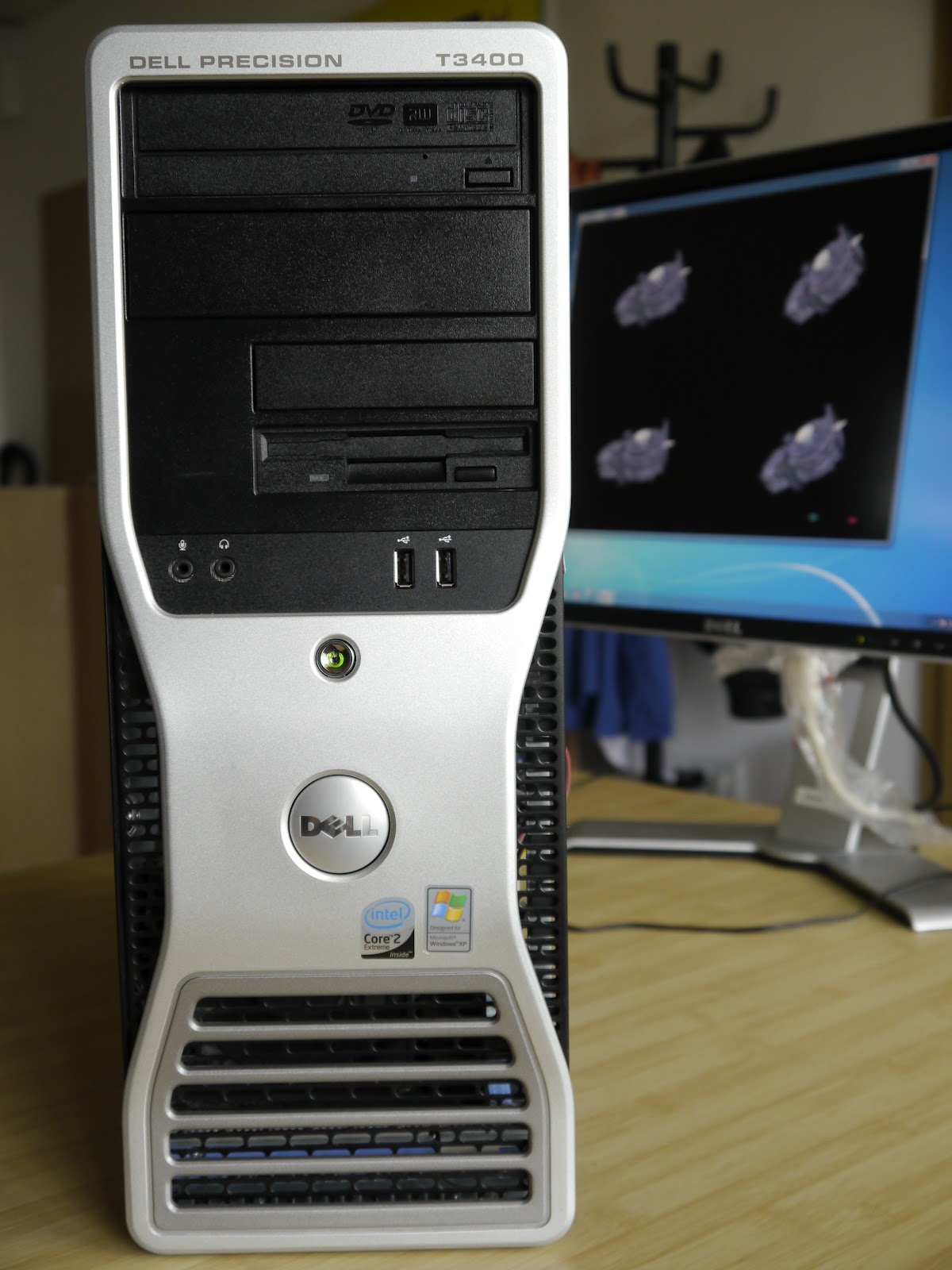 DELL Precision T3400 с Core 2 Extreme QX9650   Retro-PC-Mania - best