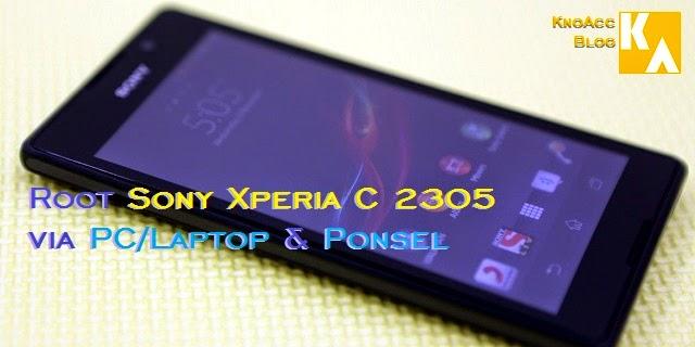 Root via Ponsel PC Sony Xperia C