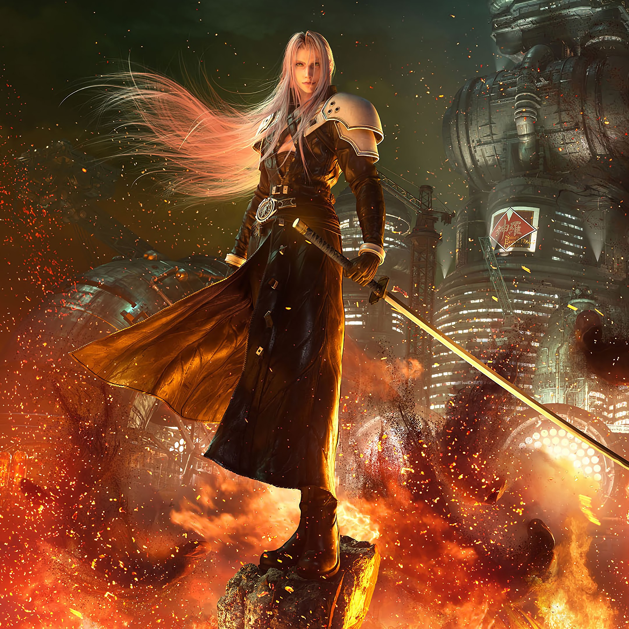 Sephiroth, Final Fantasy 7 Remake, 4K, #29 Wallpaper
