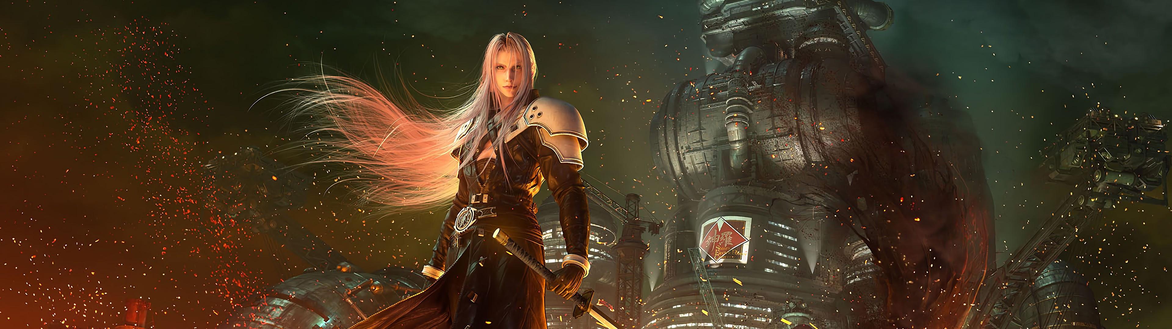 Sephiroth Final Fantasy 7 Remake 4k Wallpaper 29
