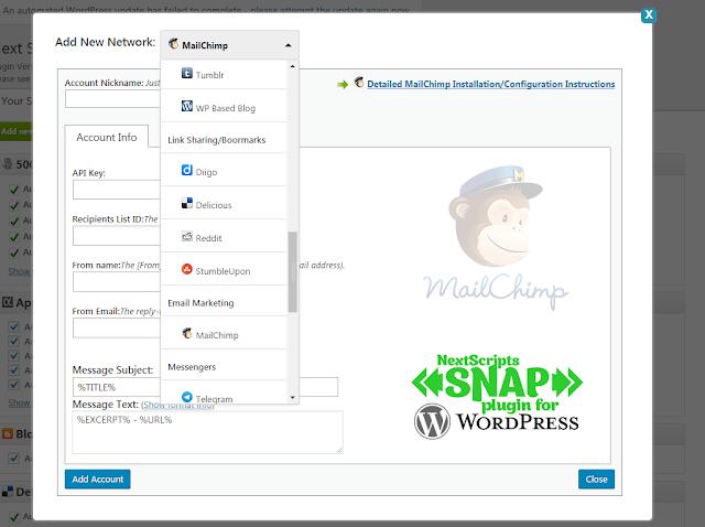 Free Download Software SNAP Auto Social Poster Blog WordPress Full Version dari Berga