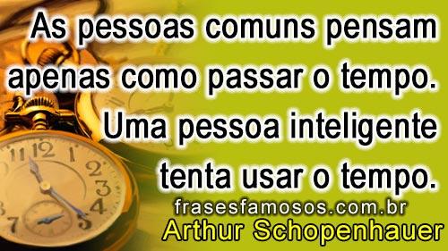 frase de Arthur Schopenhauer
