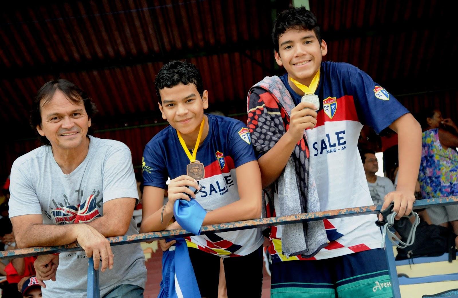 3a8cac1398  NATAÇÃO  - Nado Livre Aquática Marinho e La Salle se destacam no Troféu  Diogo Rocha de Lima