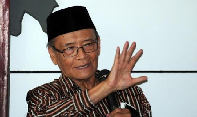 Buya Syafie Apresiasi Keberanian Pemerintah Jokowi Terbitkan Perppu Ormas
