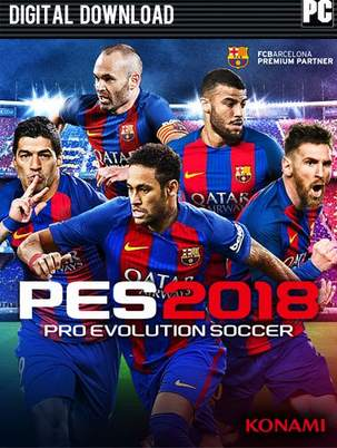 Pro Evolution Soccer 2018 PC [Full] Español [MEGA]