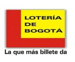 Lotería de Bogotá jueves 2 de mayo 2019
