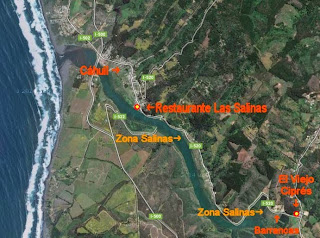 Mapa Cáhuil Barrancas Salinas