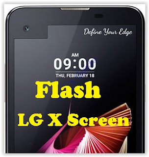 How to Flash KDZ Firmware LG X Screen LGK500N using LG Flash