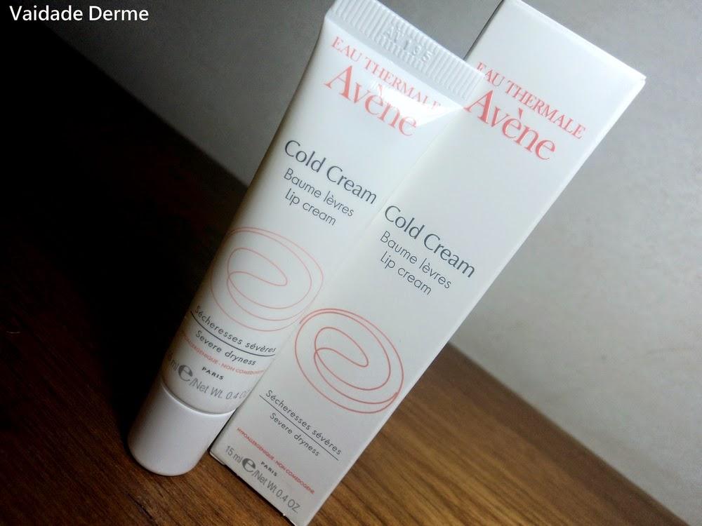 Cold Cream Lip Balm Hidratante Labial da Avène