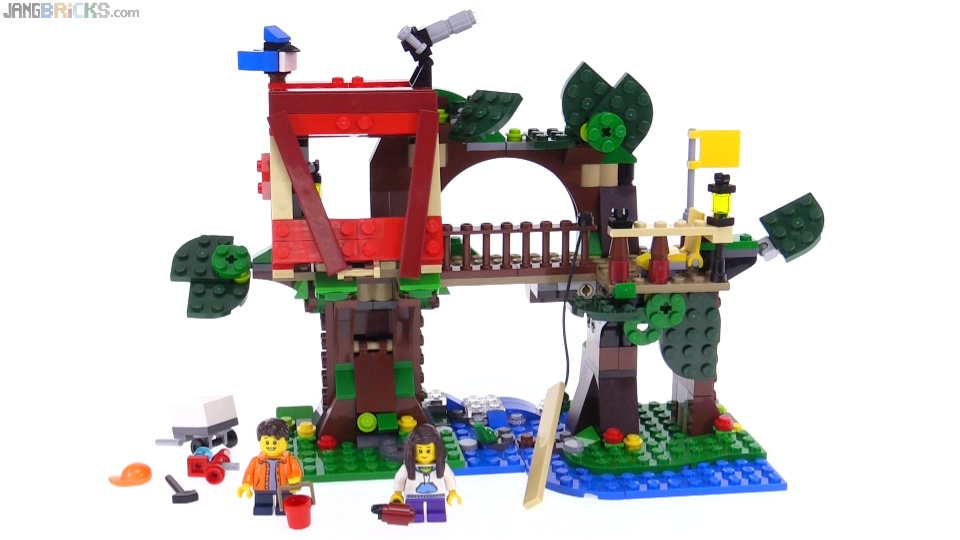 Lego Creator 3 In 1 Treehouse Adventures Review 31053