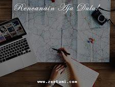 Menyusun Itinerary Sederhana yang Efektif dan Efisien ala Zoetami