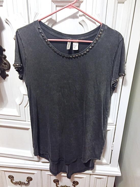 H&M studded t-shirt