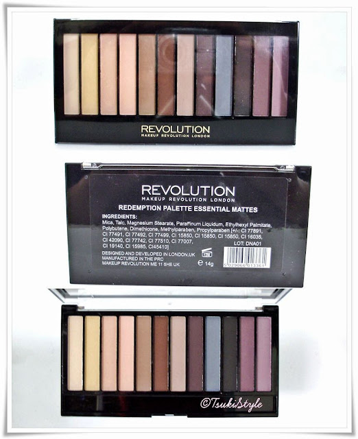 essential mattes, makeup revolution