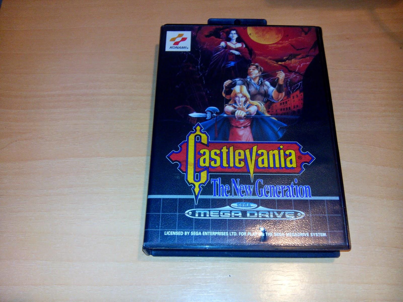 Castlevania Sega Megadrive