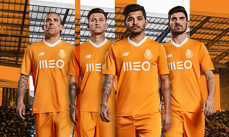 The new Porto 2017-2018 away jersey boasts a striking Flame orange color  scheme that has been a key design feature in FC Porto away kits in previous  years. 3d71598f3