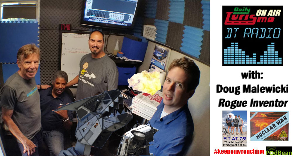 DT Radio Show: Doug Malewicki Talks Robosaurus, Evel Knievel & Fit at 75
