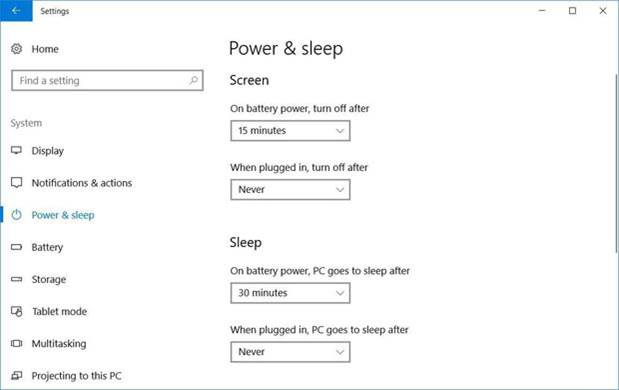 7 Tips Memaksimalkan Daya Baterai Laptop Windows 10