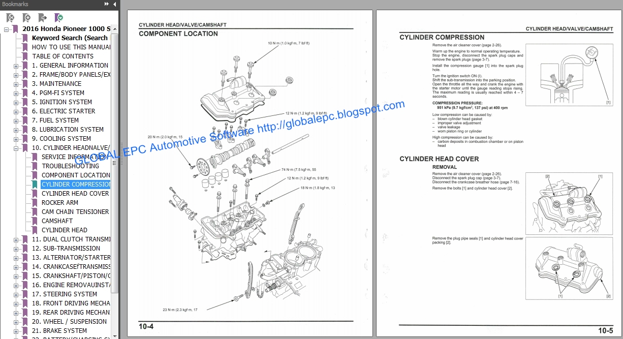 utv honda pioneer 1000 series 2016 workshop repair manual and wiring diagrams want to buy it 10 email us global epc yandex com [ 1226 x 667 Pixel ]