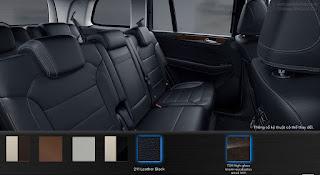 Nội thất Mercedes GLS 350d 4MATIC 2017 màu Đen 211