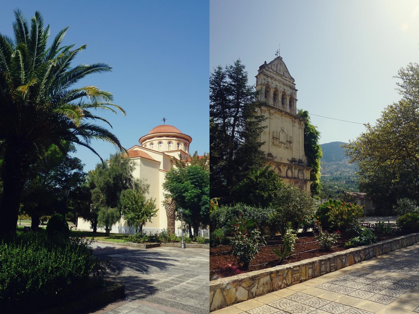 Monastyr, cerkiew, Grecja, Kefalonia