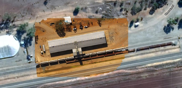 Drone Structure Scan Industrial Infrastructure Grain Receival - Image 2