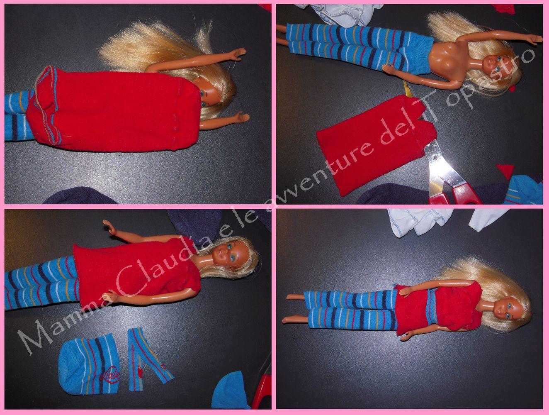 Favoloso Mamma Claudia e le avventure del Topastro: Vestiti per Barbie con  DB67