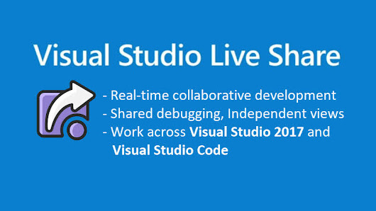 Visual Studio Live Share - An extension to collaboratively work in real time