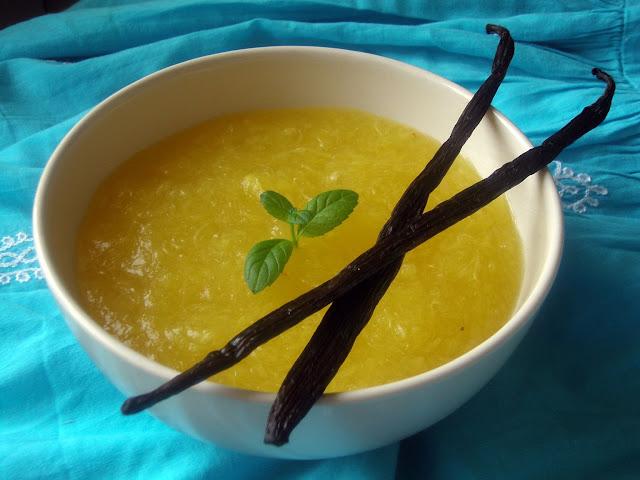 kisiel Domowy kisiel z ananasem