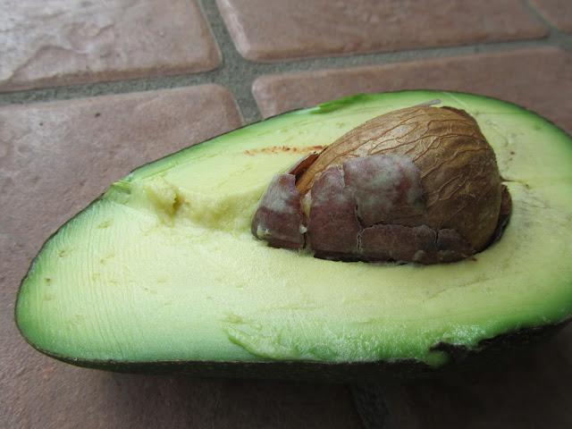 Frutto Avocado Aperto