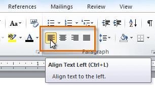 Cara Praktis Merubah Text Alignment Microsoft Word 2010 ...