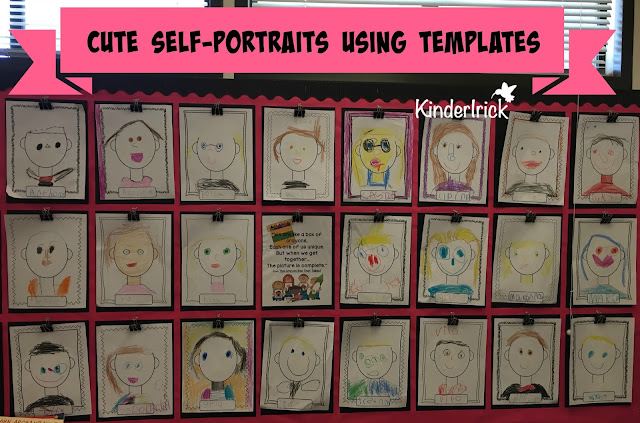 Self-portrait templates