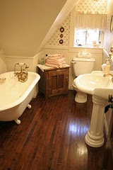 baño moderno victoriano