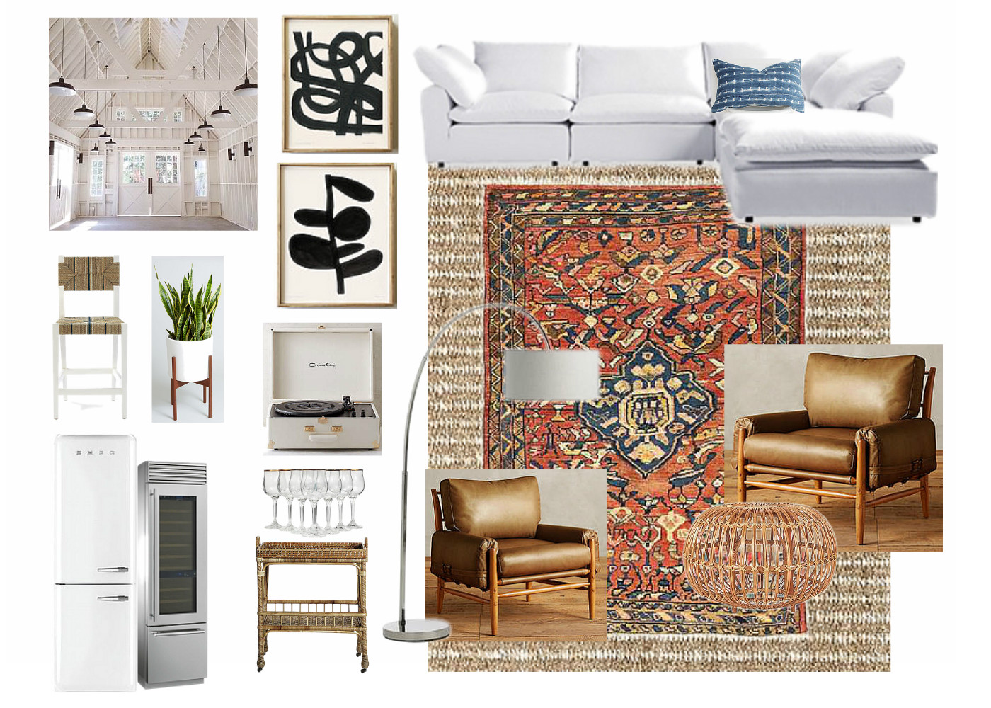 What Can I Say Love To Design Spaces So Much That Was Inspired By Arhaus My Version Of One The Latest Trends She Shed Dont