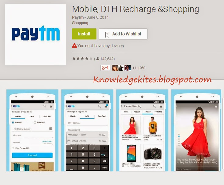 Paytm -Best Android Apps