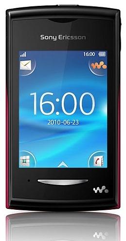 Sony Ericsson Yendo W150 Teacake W150a Yizo W150i border=