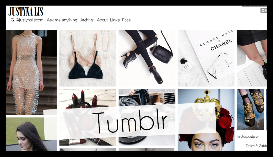 tumblr l platforma blogowa l styl l look l modowe inspiracje