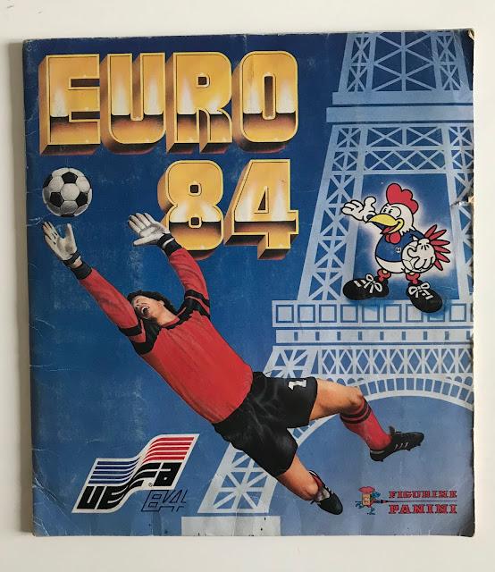 Album Panini Francia 84