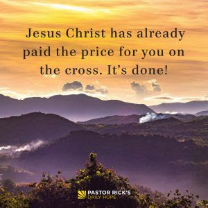 Salvation Is a Gift; You Don't Work for a Gift by Rick Warren