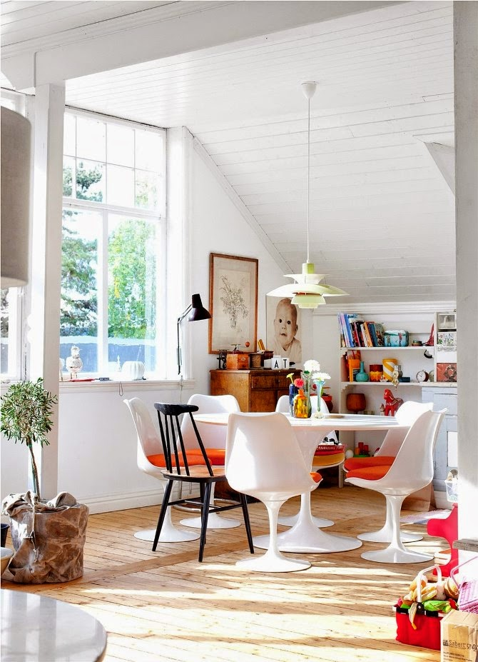 Decor inspiration an eclectic home in norway cool chic - Home interior decoration ideas ...
