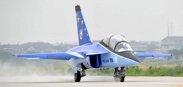L-15 Falcon Aterrizando