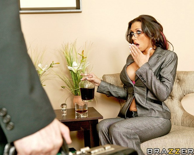 Big Tits At Work Scenes 56
