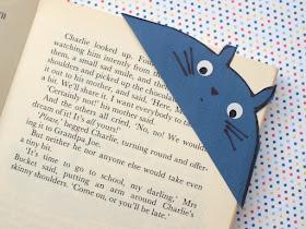 Corner Envelope Bookmarks- Super Easy Kids Craft