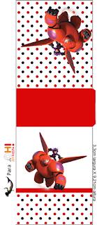 Etiqueta para Tic Tac para imprimir gratis de Big Hero 6.