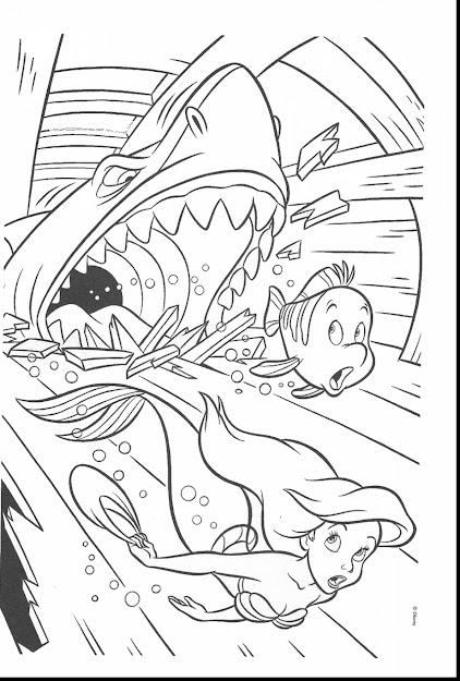 Terrific Ariel Little Mermaid Coloring Pages With The Little Mermaid  Coloring Pages And The Little Mermaid