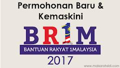 Tarikh Mula Permohonan Baru dan Kemaskini BR1M 2017