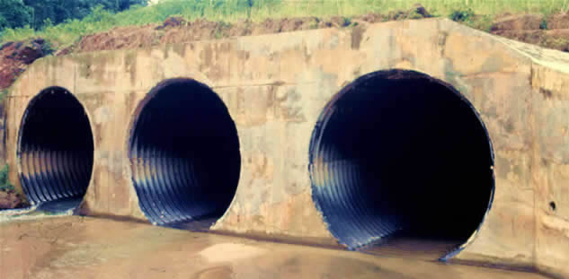 What are culverts definition and types iamcivilengineer for Kinds of pipes