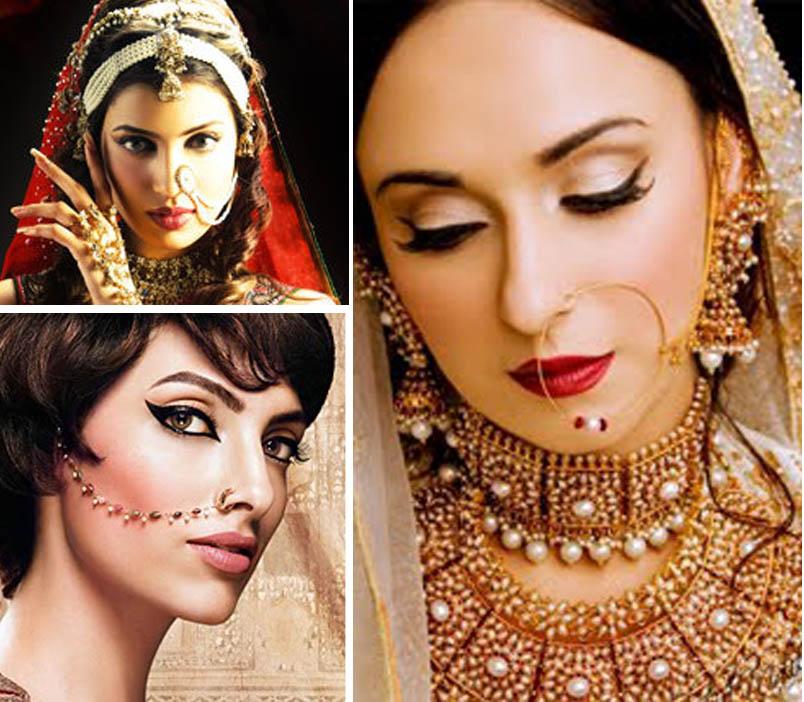 Fashion: Pakistani Bridal Nose Ring