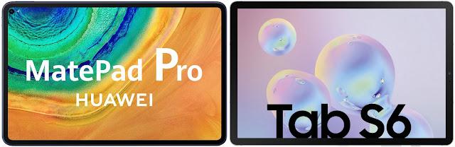 Huawei MatePad Pro vs Samsung Galaxy Tab S6